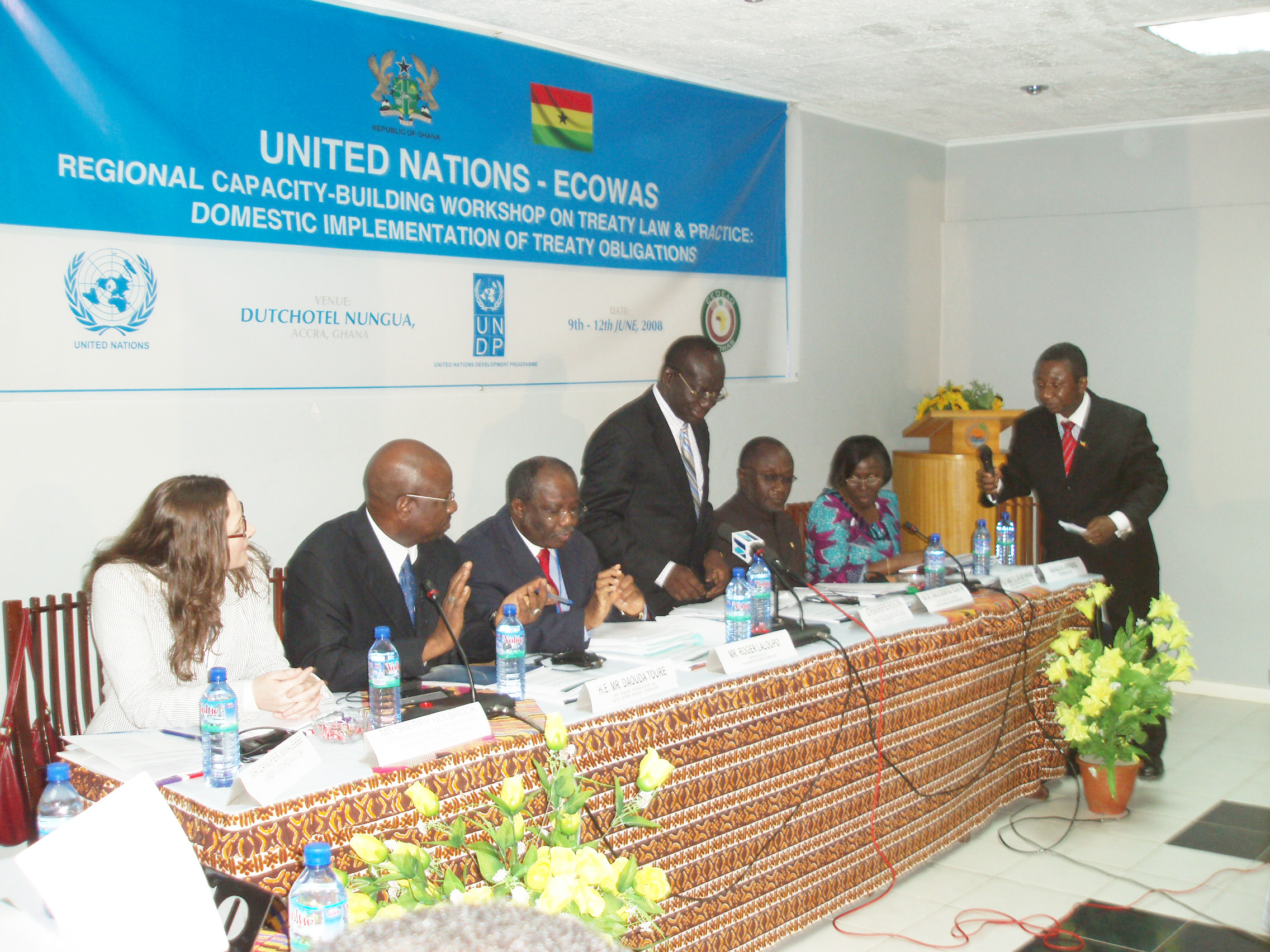 ECOWAS Regional Training Workshop