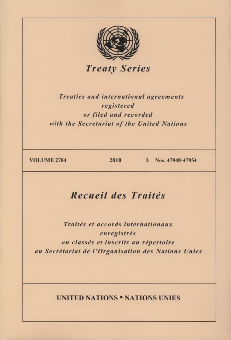 united nations treaty collection